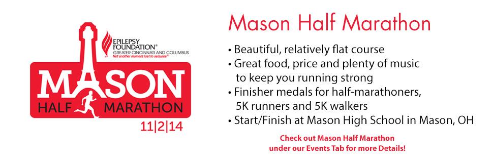 Mason Half Marathon 11/2/14