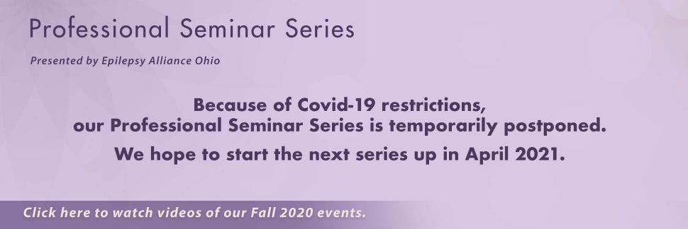Banner explaining Seminar Series