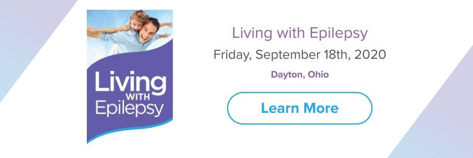 Living with Epilepsy 2020 banner